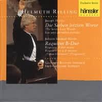 Die Sieben letzten Worte, HAYDN Johann Michael: Requiem B-du...