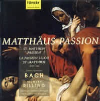 Matthäus Passion (Matoušovy pašije BWV 244) (3CD)