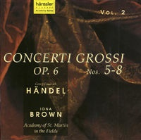 Concerti Grossi Op.6 No. 5-8 (Vol.2)