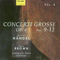 Concerti Grossi Op.6 No.9-12 (Vol.3)