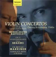 BRAHMS Johannes:  Violin Concertos