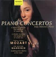 Piano Concertos (c moll č. 24 KV 491, C dur č. 25 KV 503)