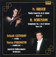 Koncert pro housle č. 1 g-moll,             SCHUMANN Robert: Symfonie č. 4 d-moll