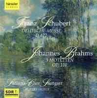 (Schubert: Deutsche Messe, Brahms, Liszt, Bruckner...)
