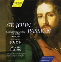 St. John Passion (2CD)