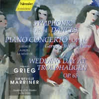 Piano Concerto Op. 16 (A Minor), Symphonic Dances Op. 65, Wedding Day at Troldhaugen