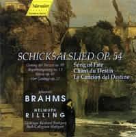 Schicksalslied Op. 54, Nänie Op.82, Gesang der Parzen Op. 89...