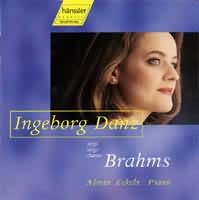 Ingeborg Danz singt Brahms (Písně-výběr)