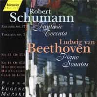 BEETHOVEN Ludwig van: Sonáty č.13 Es dur a č.14 cis moll Op. 27