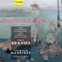 Symphonies Nos. 3  4 (č. 3 F dur op. 90, č. 4 e moll op. 98)