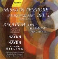 Missa in tempore belli (Paukenmesse), HAYDN Johann Michael: Requiem B-Dur (Fragment