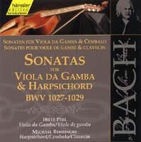 Sonatas for Viola da Gamba & Harpsichord (BWV 1027-29)