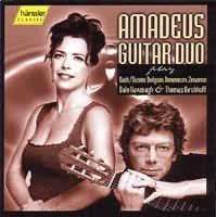 Amadeus Guitar Duo play Bach/Busoni, Dogson, Domeniconi, Zen...