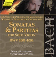 Sonatas  Partitas for Solo Violin (BWV 1001-1006) (2CD)