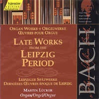 Late Works from the Leipzig Period (varhany, BWV 544, 562, 5...