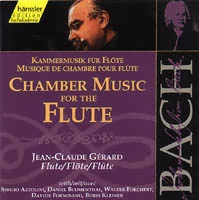Chamber Music for the Flute (sonáty a partity BWV 1013, 1020, 1030-39,...) (2CD)