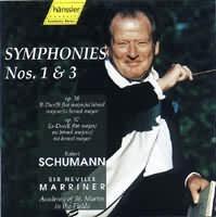 Symphonies 1  3 (č.1 B dur