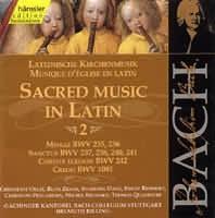 Sacred Music in Latin 2 (Missa g moll BWV 235, G dur 236, Sa...