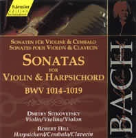 Sonatas for Violin & Harpsichord (BWV 1014-1019)