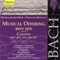 Musical Offering (BWV 1079), Canons (BWV 1072-78, 1086-87)