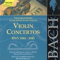 Violin Concertos (BWV 1041-1043)