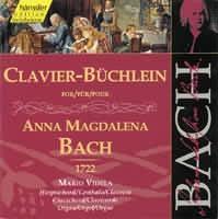 Clavier-Büchlein for Anna Magdalena Bach (1722)