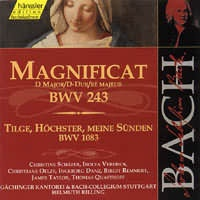 Magnificat D-dur (BWV 243), Tilge, Höchster, meine Sünden (BWV 1083)