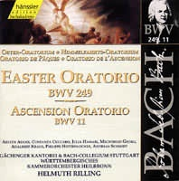 Easter Oratorio (BWV 249), Ascension Oratorio (BWV 11)