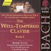 The Well-Tempered Clavier Book I (BWV 846-869) (2CD)