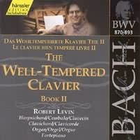 The Well-Tempered Clavier Book II  (BWV 870-893) (2CD)