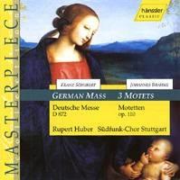 BRAHMS Johannes: 3 Motets, Fest und Gedenksprüche (Bruckner ..Liszt..)