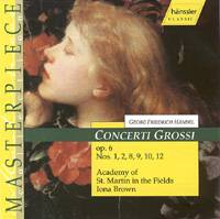 Concerti Grossi Op. 6 (výběr: č. 1, 2, 8, 9, 10, 12)