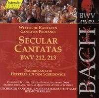 Secular Cantatas BWV 212, 213 (Bauernkantate, Herkules ...)