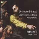 Lagrime di San Pietro, Melancholia