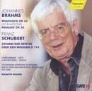 Rhapsodie op. 53, Rinaldo op. 50, SCHUBERT Franz - Gesang der Geister über den Was