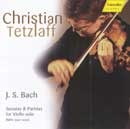 Sonatas  Partitas for Violin Solo (BWV 1001-6) Christian Tet...