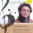 Symphony No. 1 C Minor op. 11, String Symphony No. 8, No. 13