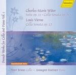 Suite op. 21, Cello Sonata op. 80,  Cello Sonata op. 27