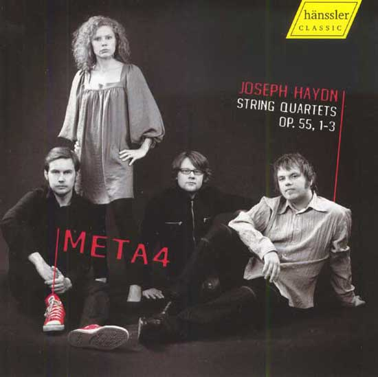 String Quartets Op. 55, 1 - 3 (Meta4)