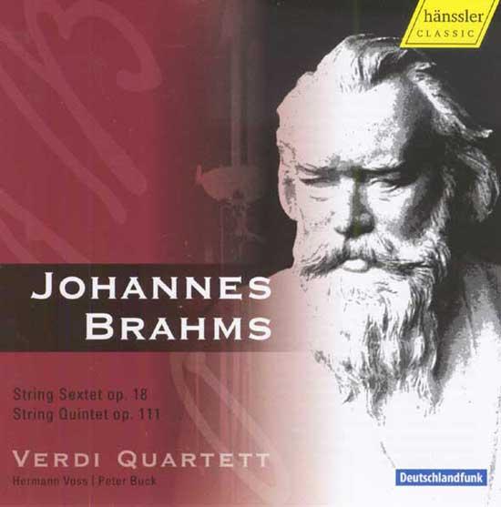 String Sextet op. 18, String Quintet op. 111 (Verdi Quartett)