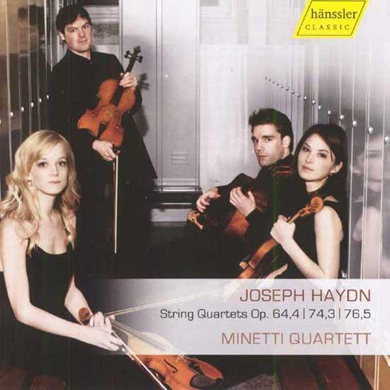 String Quartets op. 64,4/ 74,3/ 76,5  (Minetti Quartett)