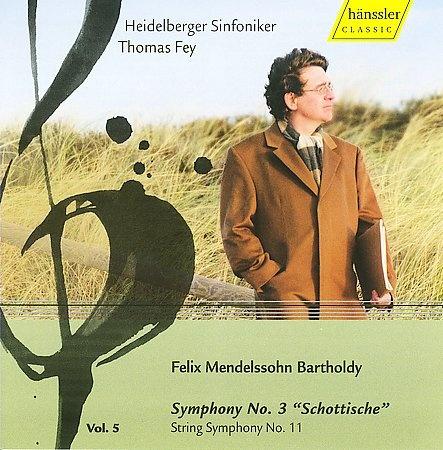 Symphony No. 3 - Schottische; String Symphony No. 11 (T. Fey)