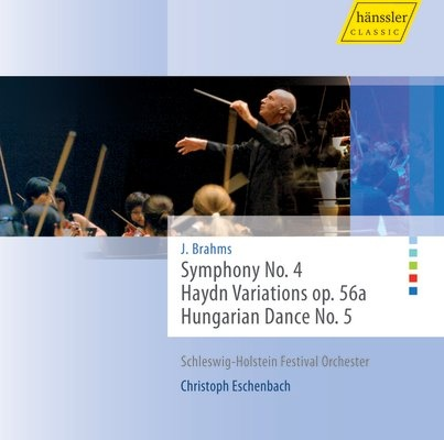 Symphony No. 4., Haydn Variations op. 56a, Hungarian Dance N...