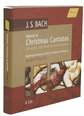 Christmas Cantatas - Advents + Weihnachtskantaten (6CD) (H. Rilling)