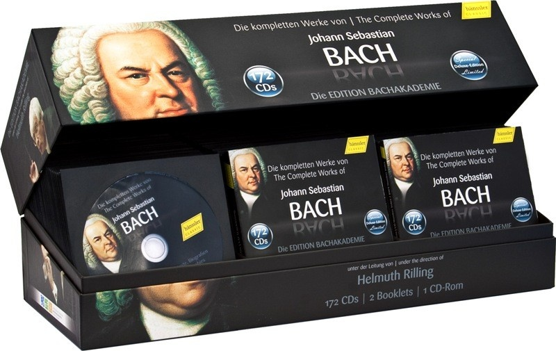 The Complete Works - Bachakademie Edition (10th Anniversary ...