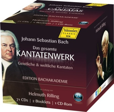 The Complete Cantatas (71CD) (Helmuth Rilling)