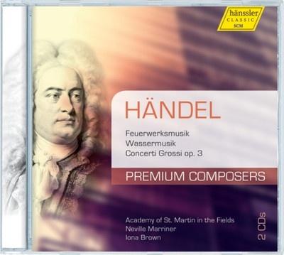 Feuerwerksmusik, Wassermusik, Concerti Grossi op. 3 (2CD)