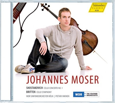 Cello Concerto No. 1, Cello Symphony (Johannes Moser)