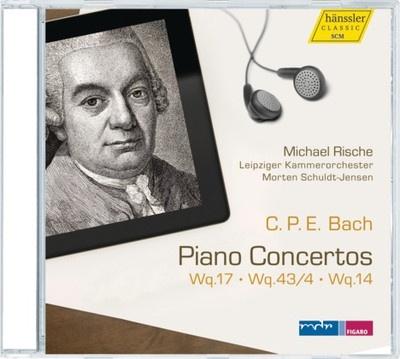 Piano Concertos  Wq.17, Wq 3/4, Wq.14