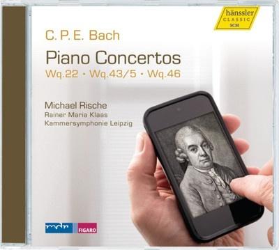 Piano Concertos - Wq 22, Wq 43/5, Wq 46